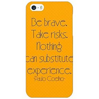 Enhance Your Phone Quote Back Cover Case For Apple iPhone 5 E21354