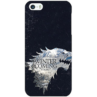 Enhance Your Phone Game Of Thrones GOT House Stark  Back Cover Case For Apple iPhone 5c E30131