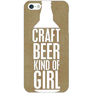 Enhance Your Phone Beer Quote Back Cover Case For Apple iPhone 5c E31219