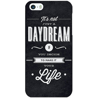 Enhance Your Phone Quote Back Cover Case For Apple iPhone 5 E21471