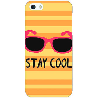 Enhance Your Phone Quotes Stay Cool Back Cover Case For Apple iPhone 5c E31149