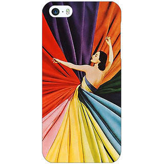 Enhance Your Phone Colours Back Cover Case For Apple iPhone 5c E31381