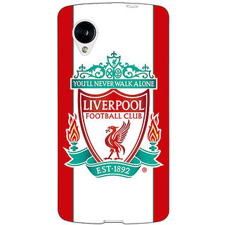 Enhance Your Phone Liverpool Back Cover Case For Google Nexus 5 E40544