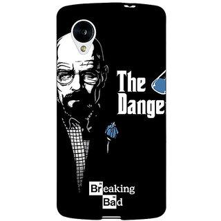 Enhance Your Phone Breaking Bad Heisenberg Back Cover Case For Google Nexus 5 E40406