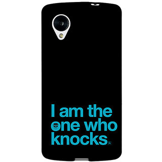 Enhance Your Phone Breaking Bad Heisenberg Back Cover Case For Google Nexus 5 E40410
