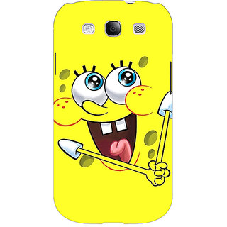 Enhance Your Phone Spongebob Back Cover Case For Samsung Galaxy S3 E50460