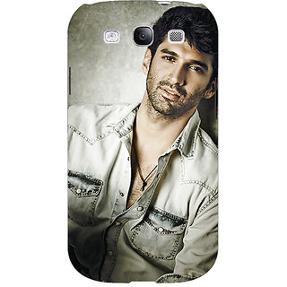 Enhance Your Phone Bollywood Superstar Aditya Roy Kapoor Back Cover Case For Samsung Galaxy S3 E50924