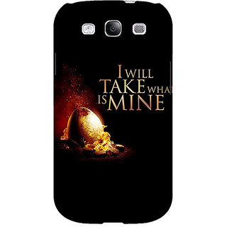 Enhance Your Phone Game Of Thrones GOT Khaleesi Daenerys Targaryen Back Cover Case For Samsung Galaxy S3 E51543
