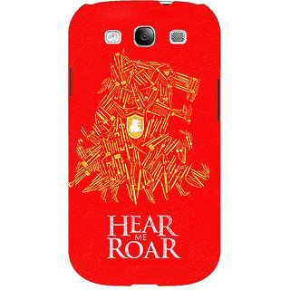 Enhance Your Phone Game Of Thrones GOT House Lannister Tyrion Back Cover Case For Samsung Galaxy S3 E51558