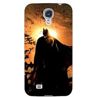 Enhance Your Phone Superheroes Batman Dark knight Back Cover Case For Samsung Galaxy S4 I9500 E60005