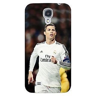 Enhance Your Phone Cristiano Ronaldo Real Madrid Back Cover Case For Samsung Galaxy S4 I9500 E60309