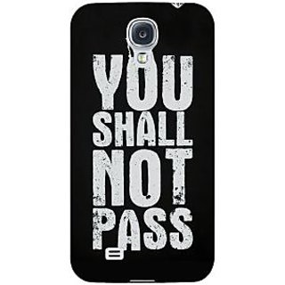 Enhance Your Phone LOTR Hobbit Gandalf Back Cover Case For Samsung Galaxy S4 I9500 E60362