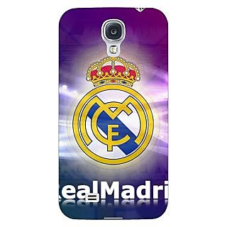 Enhance Your Phone Real Madrid Back Cover Case For Samsung Galaxy S4 I9500 E60595