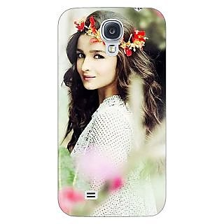 Enhance Your Phone Bollywood Superstar Alia Bhatt Back Cover Case For Samsung Galaxy S4 I9500 E61028