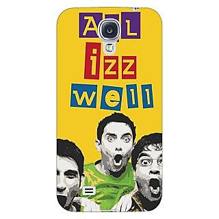 Enhance Your Phone Bollywood Superstar Three Idiots All is Well Back Cover Case For Samsung Galaxy S4 I9500 E61111