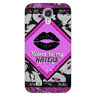 Enhance Your Phone Kiss Back Cover Case For Samsung Galaxy S4 I9500 E61390