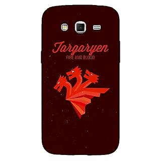 Enhance Your Phone Game Of Thrones GOT House Targaryen  Back Cover Case For Samsung Galaxy Grand 2 E70137