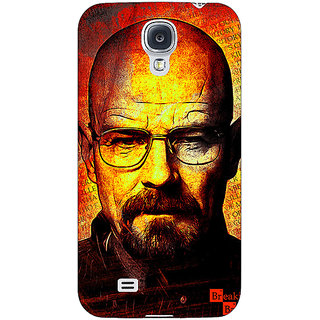 Enhance Your Phone Breaking Bad Heisenberg Back Cover Case For Samsung Galaxy S4 I9500 E60405