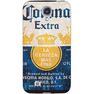 Enhance Your Phone Corona Beer Back Cover Case For Samsung Galaxy S4 I9500 E61245