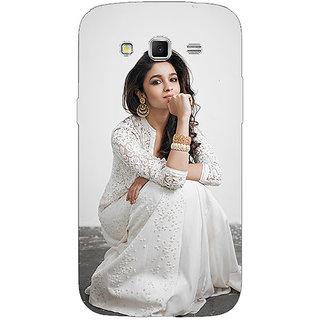 Enhance Your Phone Bollywood Superstar Alia Bhatt Back Cover Case For Samsung Galaxy Grand 2 E71025