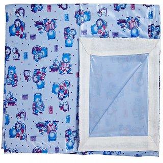 Love Baby 613 E Plastic Bed Sheet (Blue)