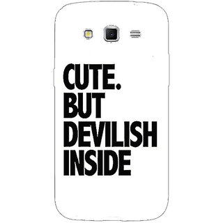 Enhance Your Phone Quote Back Cover Case For Samsung Galaxy Grand 2 E71445
