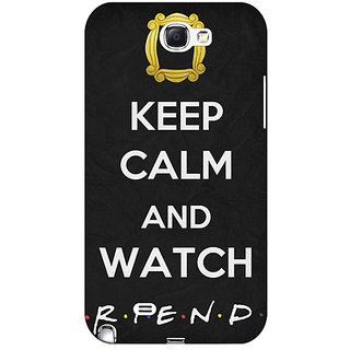 Enhance Your Phone TV Series FRIENDS Back Cover Case For Samsung Galaxy Note 2 N7100 E80344