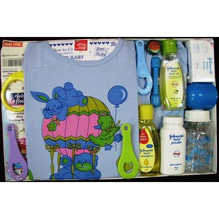 Love Baby Gift Set Mini Love (Blue)