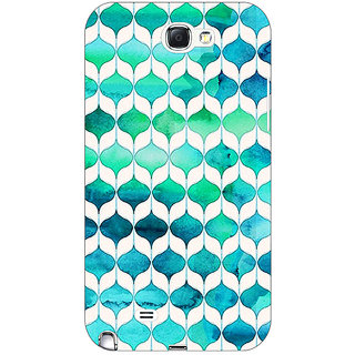 Enhance Your Phone Dream Patterns Back Cover Case For Samsung Galaxy Note 2 N7100 E80252
