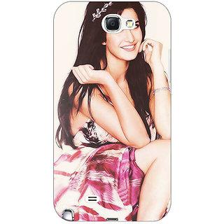 Enhance Your Phone Bollywood Superstar Katrina Kaif Back Cover Case For Samsung Galaxy Note 2 N7100 E80979