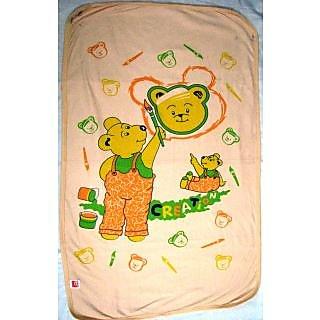859eabf67 53%off Love Baby Bath Towel 1907 Egyption Cotton Regular Cartoon Print  (Peach)