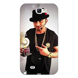 Enhance Your Phone Bollywood Superstar Honey Singh Back Cover Case For Samsung Galaxy Note 2 N7100 E81180