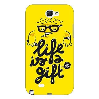 Enhance Your Phone Life Quote Back Cover Case For Samsung Galaxy Note 2 N7100 E81415
