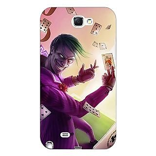 Enhance Your Phone Joker Back Cover Case For Samsung Galaxy Note 2 N7100 E81441