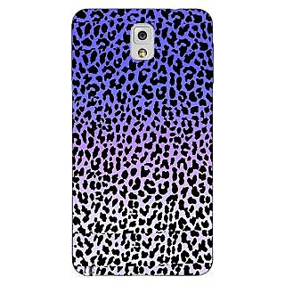 Enhance Your Phone Cheetah Leopard Print Back Cover Case For Samsung Galaxy Note 3 N9000 E90082