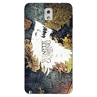 Enhance Your Phone Game Of Thrones GOT House Stark  Back Cover Case For Samsung Galaxy Note 3 N9000 E90124