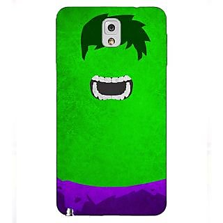 Enhance Your Phone Superheroes Hulk Back Cover Case For Samsung Galaxy Note 3 N9000 E90322