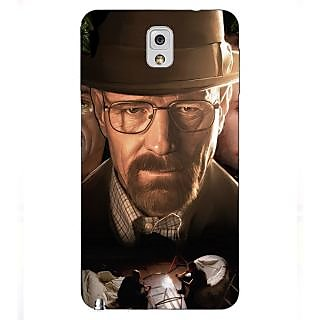 Enhance Your Phone Breaking Bad Heisenberg Back Cover Case For Samsung Galaxy Note 3 N9000 E90408