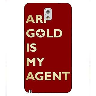 Enhance Your Phone Entourage Ari Gold Back Cover Case For Samsung Galaxy Note 3 N9000 E90436