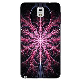 Enhance Your Phone Abstract Flower Pattern Back Cover Case For Samsung Galaxy Note 3 N9000 E91524