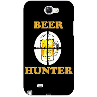 Enhance Your Phone Beer Quote Back Cover Case For Samsung Galaxy Note 2 N7100 E81236