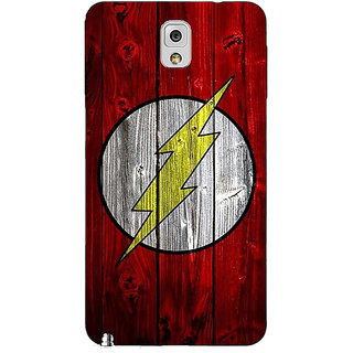 Enhance Your Phone Flash Back Cover Case For Samsung Galaxy Note 3 N9000 E91397