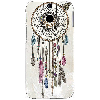 Enhance Your Phone Dream Catcher Back Cover Case For HTC One M8 E140097