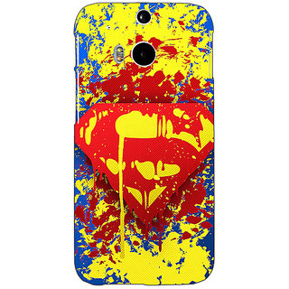 Enhance Your Phone Superheroes Superman Back Cover Case For HTC One M8 E140392