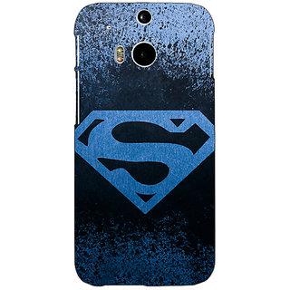 Enhance Your Phone Superheroes Superman Back Cover Case For HTC One M8 E140393