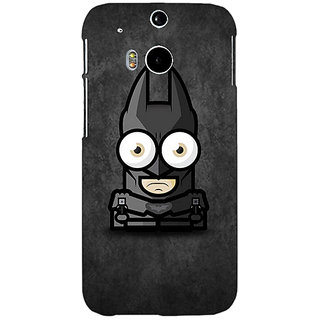 Enhance Your Phone Big Eyed Superheroes Batman Back Cover Case For HTC One M8 E140395