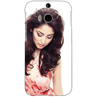 Enhance Your Phone Bollywood Superstar Yami Gautam Back Cover Case For HTC One M8 E141043