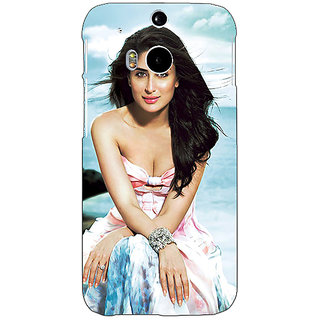 Enhance Your Phone Bollywood Superstar Kareena Kapoor Back Cover Case For HTC One M8 E141047
