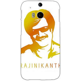 Enhance Your Phone Rajni Rajanikant Back Cover Case For HTC One M8 E141490