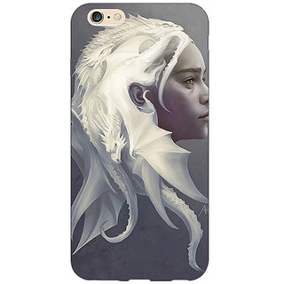 Enhance Your Phone Game Of Thrones GOT House Targaryen  Back Cover Case For Apple iPhone 6 E150141